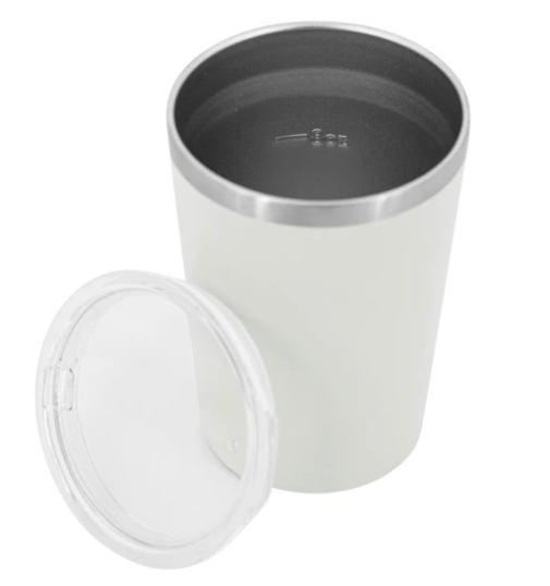 Pargo Insulated Coffee Cup - Bone White 12oz