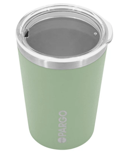 Pargo Insulated Coffee Cup - Eucalypt Green 12oz