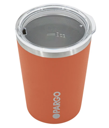 Pargo Insulated Coffee Cup - Outback Red 12oz