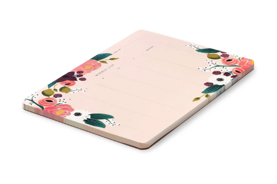 Rifle Paper Co Weekly Deskpad - Garden Party