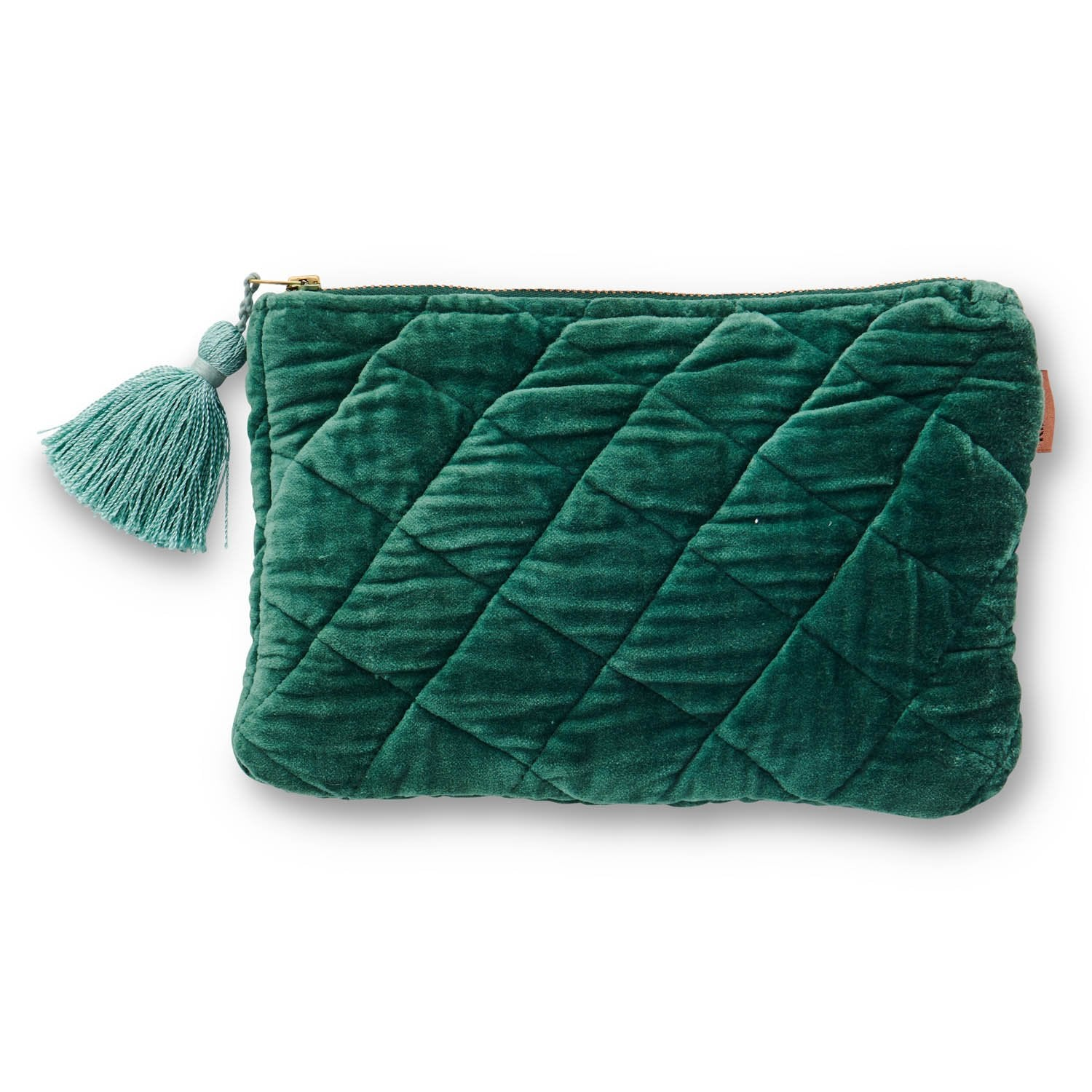 Sycamore Velvet Cosmetic Purse