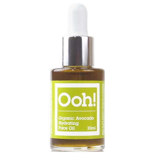 Oils of Heaven Organic Avocado Face Oil - Hydrating 30ml