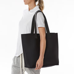 Base Neoprene Everyday Tote - Go-to Black