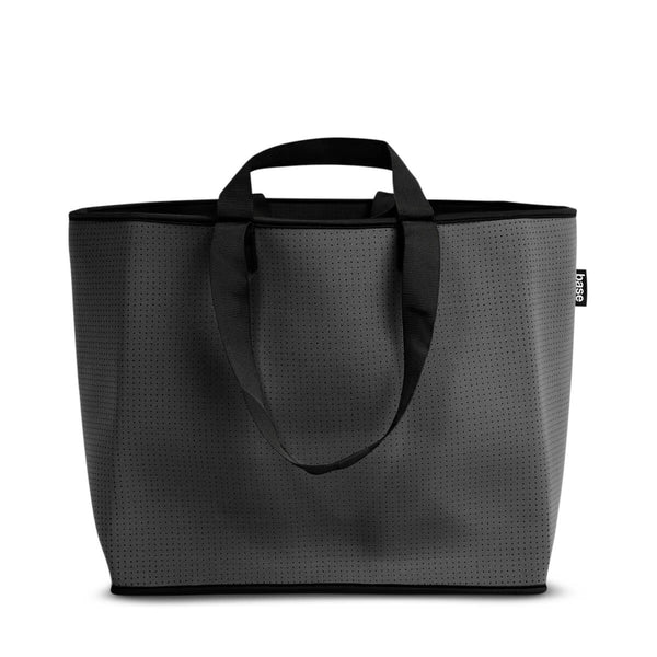 Big Base Tote Bag - Charcoal