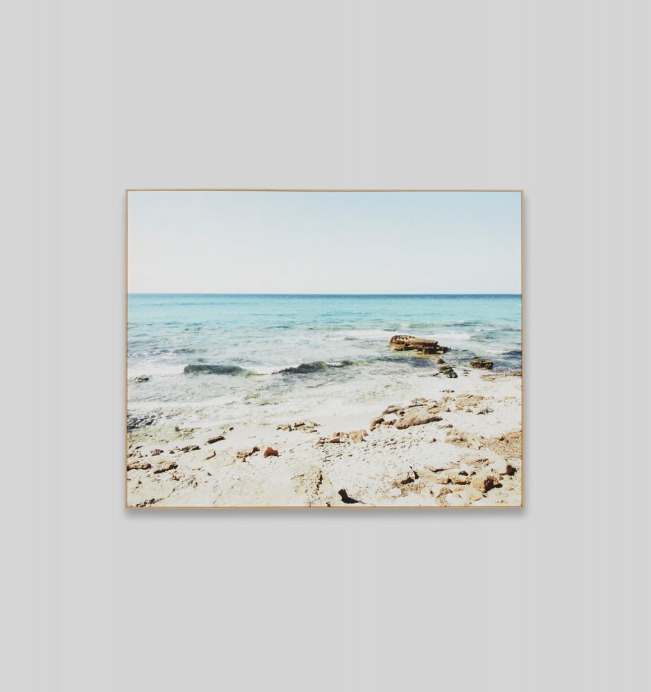 Coastal Rockpool Canvas