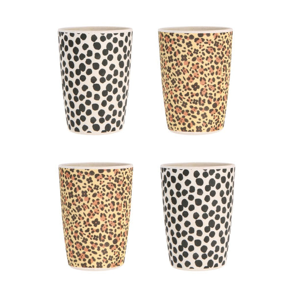 Love Mae Tumblers 4pk - Jaguar & Jungle Spot