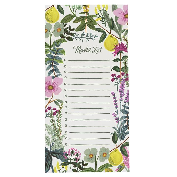 Rifle Paper Co - Shopping Pad Herb Market