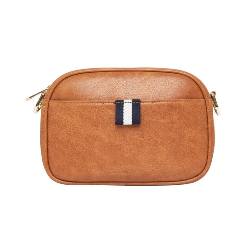 New York Camera Bag - Tan Pebble