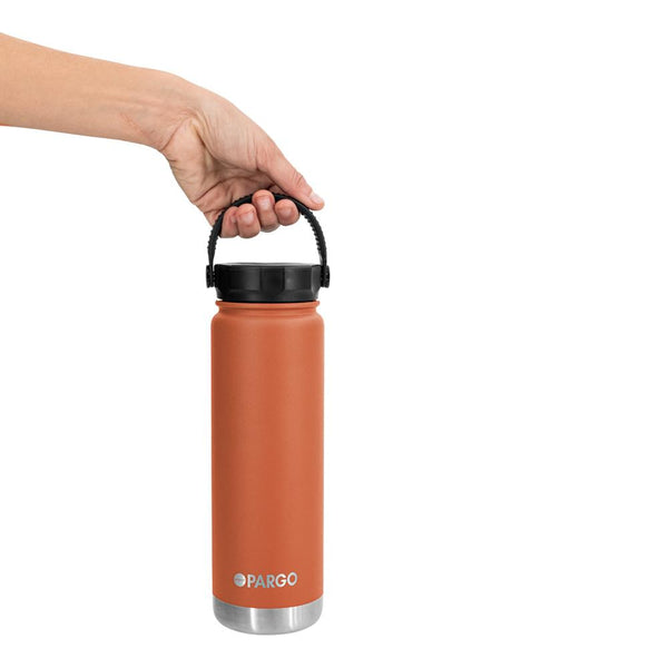 Pargo Insulated Water Bottle - Outback Red 750ml