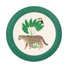 Love Mae Small Plates 4pk - Sloth & Jaguar