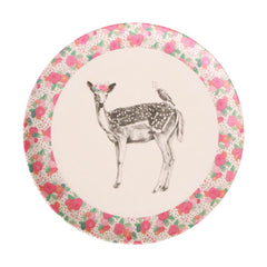 Love Mae Small Plates 4pk - Unicorn & Deer