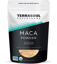 Load image into Gallery viewer, Terrasoul Superfoods Organic Gelatinized Maca Powder, 16 Ounce