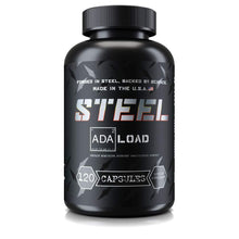 Load image into Gallery viewer, Steel Supplements ADA-Load | Carb Blocker, Blood Sugar Management and Muscle Pumps | Advanced Nutrient Partitioning Supplement for Men and Women | 120 Capsules