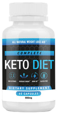 Load image into Gallery viewer, Keto Diet Pills - Weight Loss Fat Burner Supplement for Men and Women - Carb Blocker & Appetite Suppressant Formulated to Compliment a Ketogenic Diet - 60 Capsules