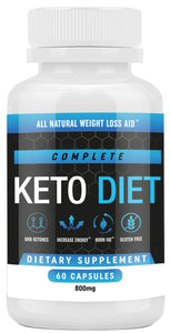 Keto Diet Pills - Weight Loss Fat Burner Supplement for Men and Women - Carb Blocker & Appetite Suppressant Formulated to Compliment a Ketogenic Diet - 60 Capsules