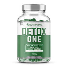 Load image into Gallery viewer, DetoxOne Colon Cleanser & Detox for Weight Loss by NutraOne | 30 Day Extra Strength Detox Cleanse for Constipation Relief* | Flush Toxins, Boost Energy & Improves Nutrient Absorption*