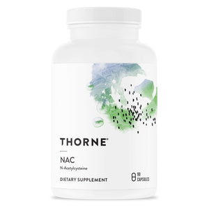 Thorne Research - NAC (Formerly Cysteplus) - N-Acetylcysteine for Liver Support, Detoxification, and Immune Function - 90 Capsules