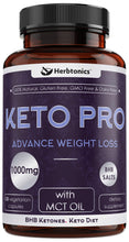 Load image into Gallery viewer, Keto BHB Pills - Ketosis Supplement to Burn Fat Fast - Ketogenic Diet Carb Blocker Best Keto Diet Pills for Women and Men