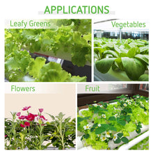 Load image into Gallery viewer, VIVOSUN Hydroponic Grow Kit, 3 Layers 108 Plant Sites 12 PVC Pipes Hydroponics Growing System with Water Pump, Pump Timer, Nest Basket and Sponge for Leafy Vegetables