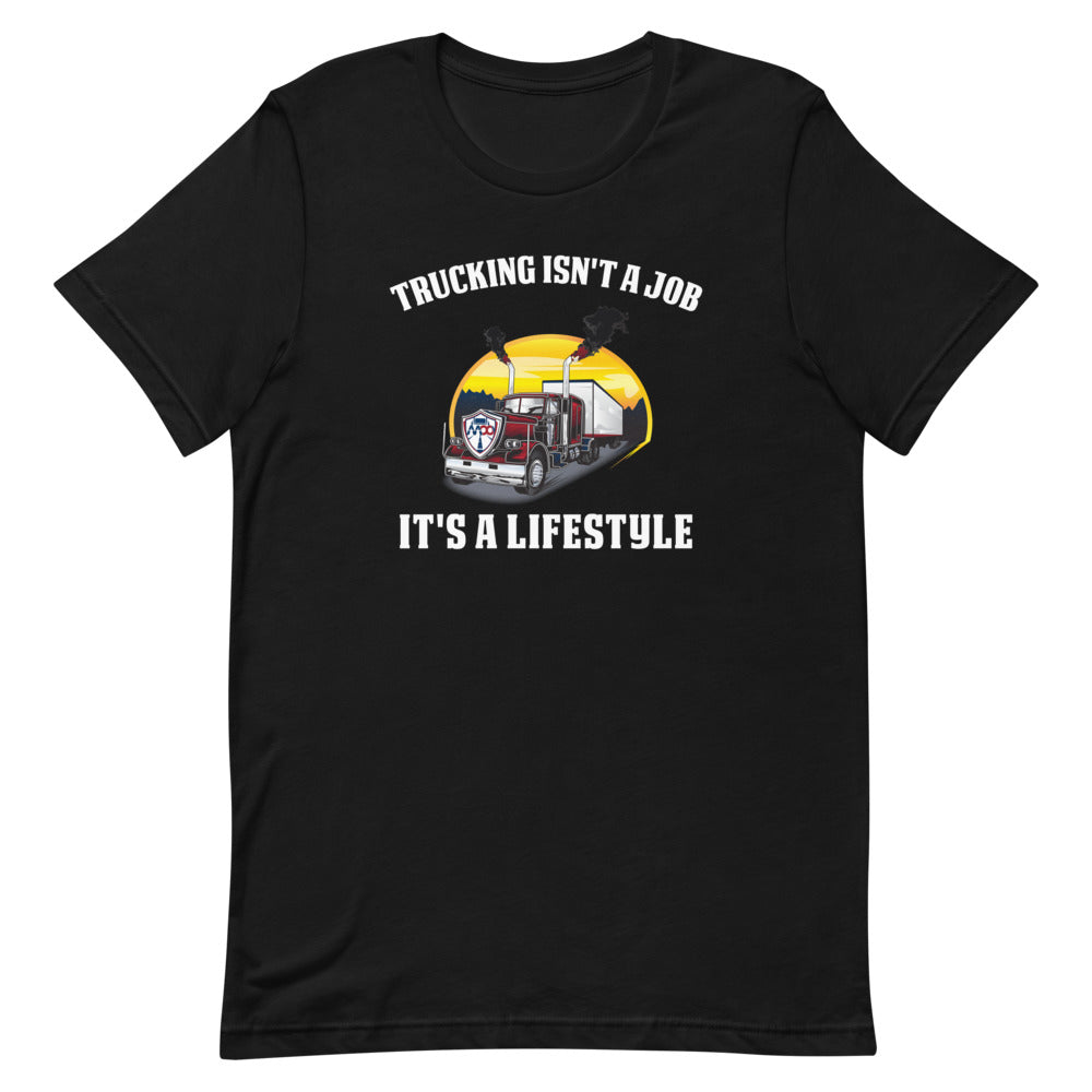 Trucking Is a Lifestyle Short-Sleeve T-Shirt