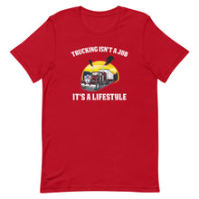 Load image into Gallery viewer, Trucking Is a Lifestyle Short-Sleeve T-Shirt