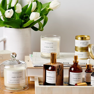 Amanda-Jayne candles, essential oils and home fragrance. Hand-poured soy candles created in Cape Town to fill your home with the gorgeous curated scents.