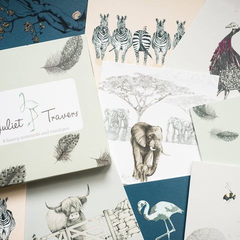 SAFARI Notecards <br/> by Juliet Travers