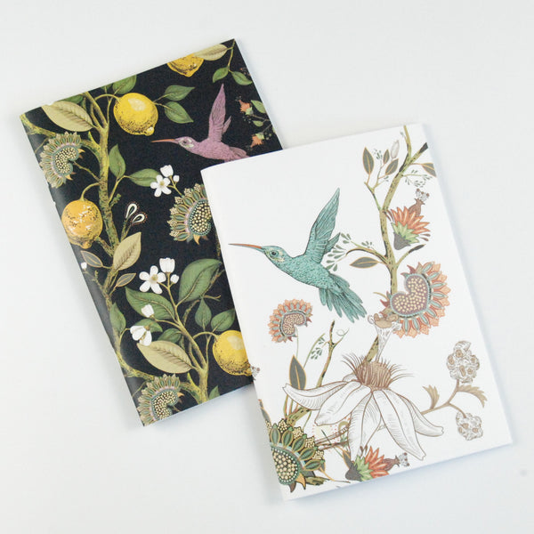 To the Moon & Back Lovely Little Notebooks (set of 2) - HUMMINGBIRD
