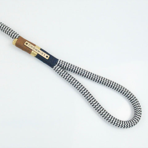 Chommies Around-the-Block Leash - NAVY & KAROO