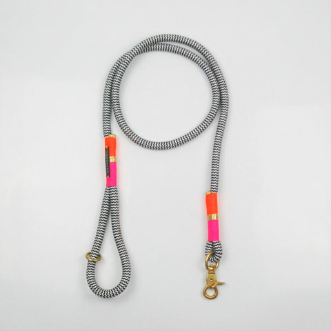 Chommies Standard Lead <br/> NEON ORANGE & NEON PINK (Llandudno)