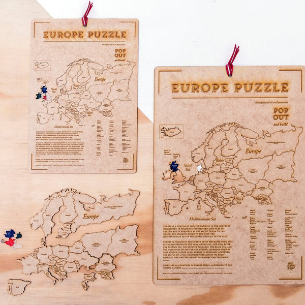 Pop out map <br>  EUROPE