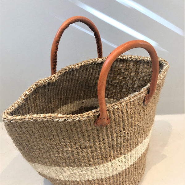 Sisal Shopping Basket <br/> SMALL
