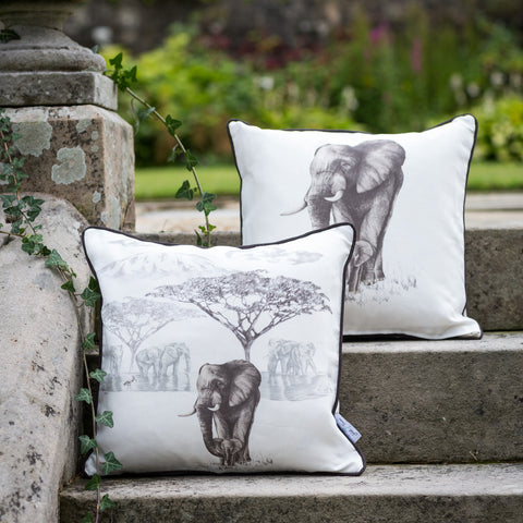 SAFARI Cushion Cover <br/> THE WATERHOLE