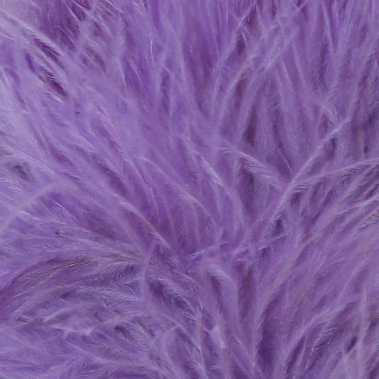 fluffi ostrich feather keyring bag charm