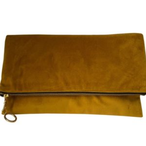 Rona Jessie fold-over clutch bag - SUNSHINE