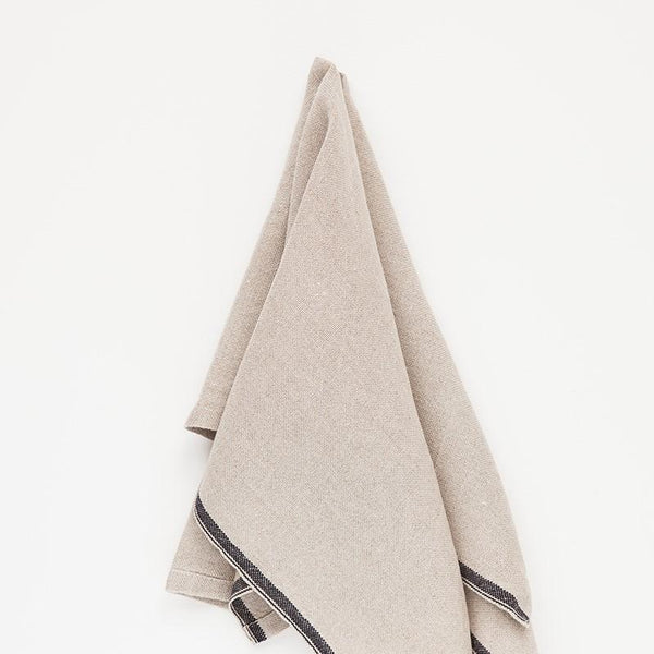 Selvedge Napkins <br/> BLACK