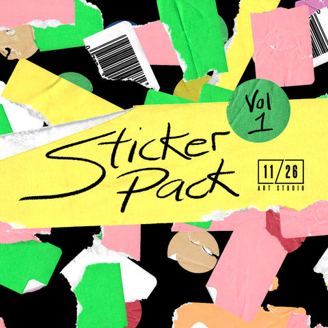 STICKER PACK - VOL. ONE