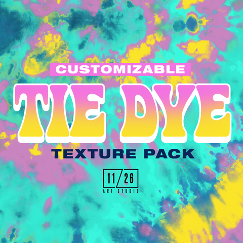 TIE DYE PACK - VOL. ONE