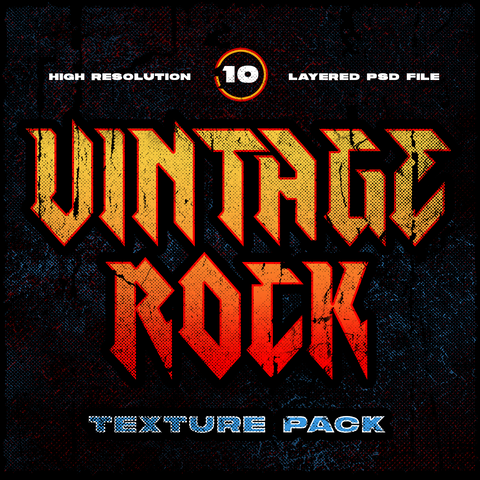 VINTAGE ROCK TEXTURES - VOL. ONE