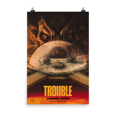 Trouble Parody Poster