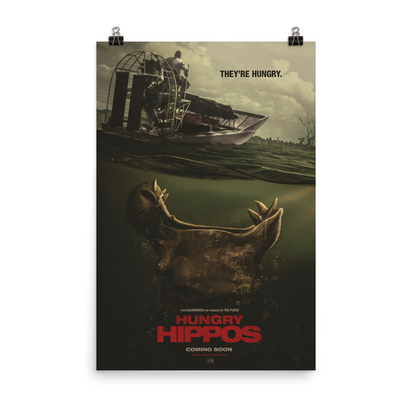 Hungry Hippos Poster