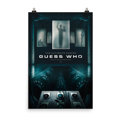 Guess Who Parody Poster