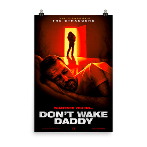 Don't Wake Daddy Parody Poster