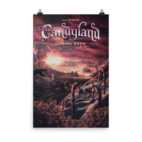 Candyland Parody Poster
