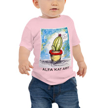 Load image into Gallery viewer, Let's Be Friends Cactus Baby Jersey Short Sleeve Tee