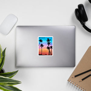 Sunset Surfers stickers