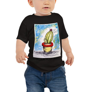 Let's Be Friends Cactus Baby Jersey Short Sleeve Tee