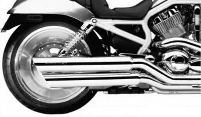 Silencieux Pour V-ROD Double Barrell Exhaust Pipes Harley-Davidson®