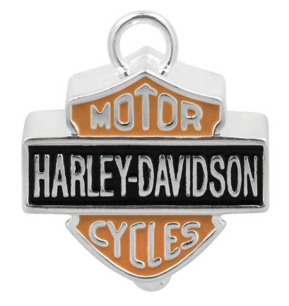 Ride Bell pour Homme Bar and Shield Orange et Noir Harley-Davidson