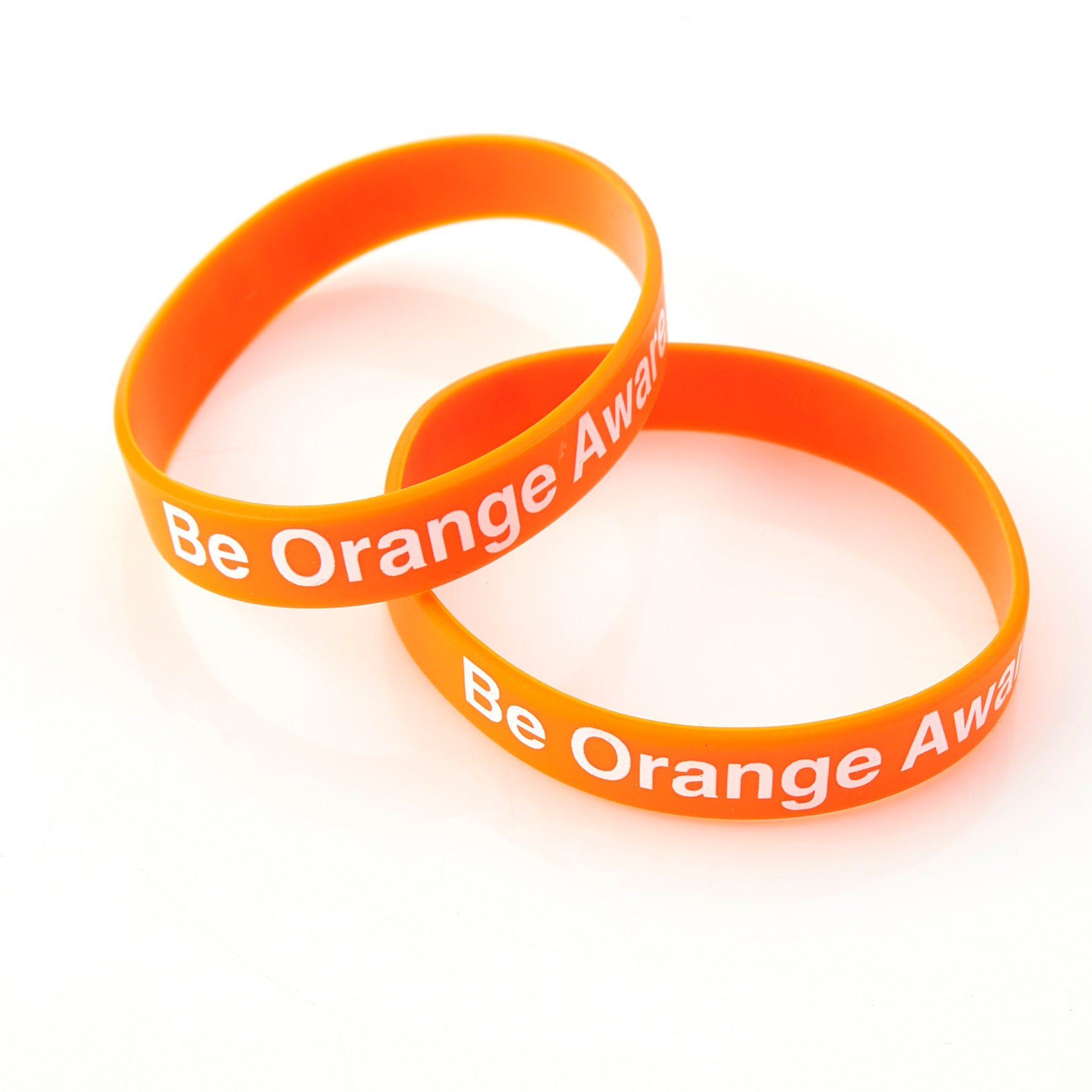 Be Orange Aware Wristband: box of 50